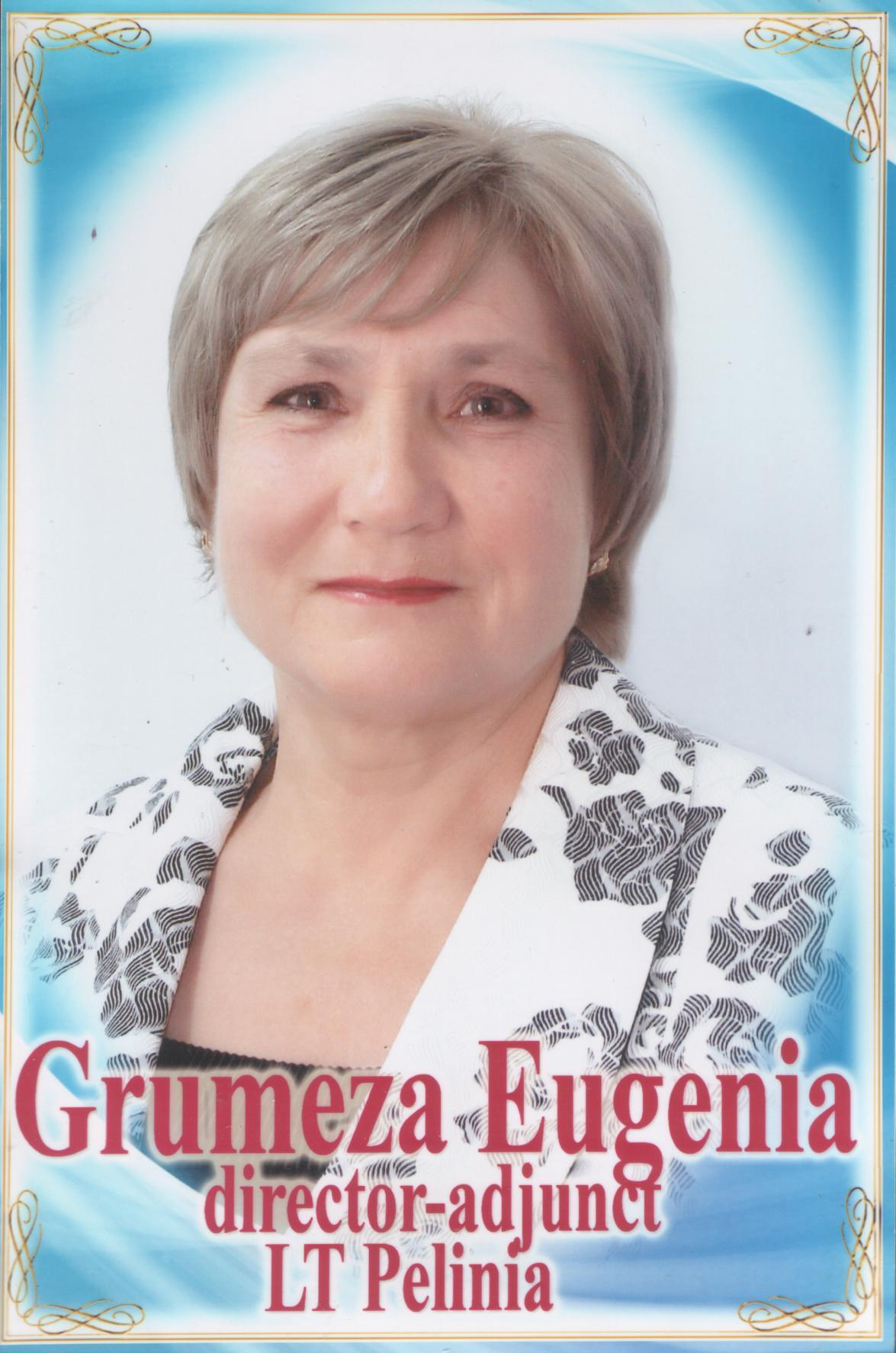 GRUMEZA EUGENIA, director-adjunct LT